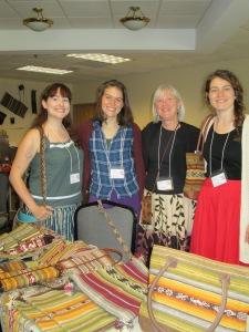 Katie, Selina, Dorinda, Kelsey, WARP Conference 2013