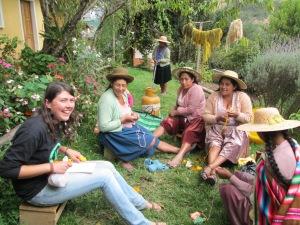 Knitting Camraderie