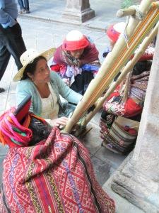 Doña Máxima Weaving at Tinkuy 2013, Cusco