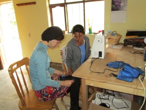 Sewing Project with Gabriela