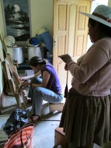 Weaving Class with Doña Máxima