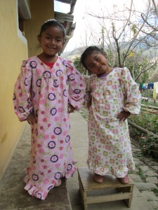Vilma´s Daughters Model New Nightgowns