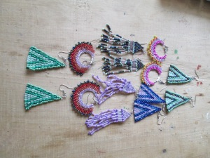 Bead Weaving was Taught in this Year´s Classes