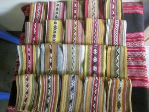 2014 Weavings for Laverne Waddington's Weaving Workshops