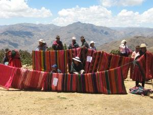 Textile Fair, Charahuaytu, 2007