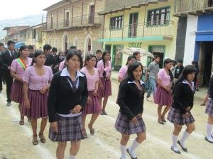 Bolivia Aleman´s Senior Class