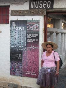 Doña Máxima, Entrance to ASUR Museum