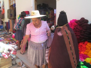 Clothing and Yarn Not the Weavings Captured Doña Máxima´s Eye in Tarabuco