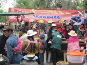 Tarabuco Native Foods Fair