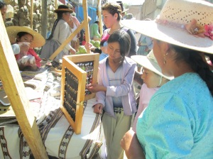 Veronica Sells Earrings While Zuni Bags Soaps