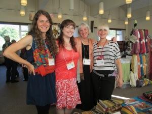 Kelsey, Katie, Dorinda, Amanda at WARP Conference, 2015