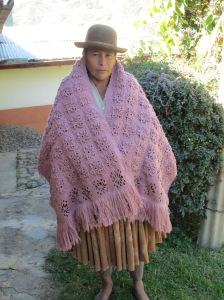 Doña Antonia´s Crocheted Shawl
