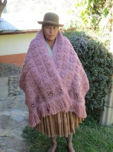 Doña Antonia´s Crocheted Shawl