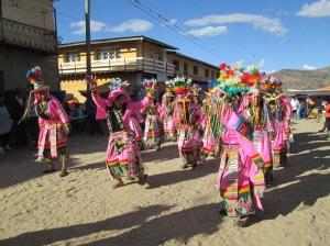 Don Bosco High School´s Tinku Dancers