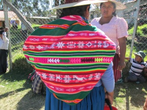 Doña Màxima Wore Her New Aguayo with the Embedded Double Weave