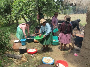 Preparation of a Wedding Feast, Huancarani