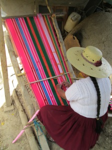 View of Doña Màxima´s Loom