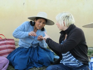 Amanda Instructing Doña Eulalia
