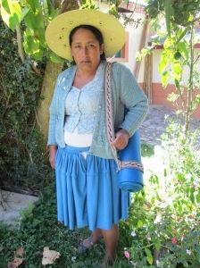 Doña Máxima Modeling a Yoga Mat Strap