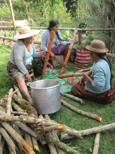 Prepping Sumakaya Bark