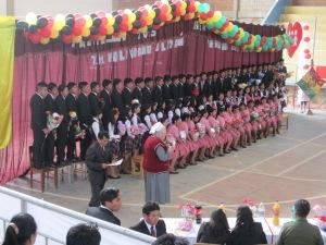 Boliva Aleman High School's Class of 2015