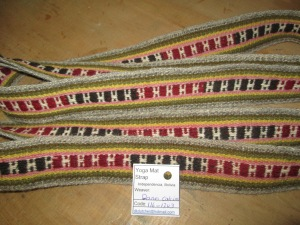 15 Year Old Dania´s First Weaving, SOLD
