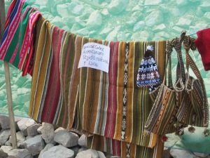 Doña Narciza´s Weavings on Display