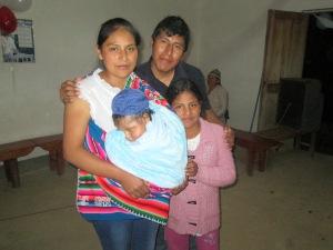 Noemi with Family