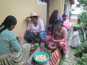 Prepping Pique Macho