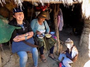 Alison & Doña Máxima Enjoy Campo Hospitality