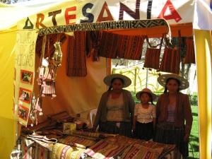 Doña Maxima, Granddaughter Zuni, and Zoraida, Cochabamba 2011