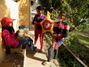 Abigail & Nelva's Piñata Made Their Sister´s January Birthday More Festive