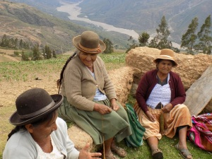 A Fun Social Day for the Rural Weavers